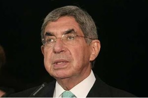 Oscar Arias, two time president of Costa Rica and Nobel Peace Prize Winner.