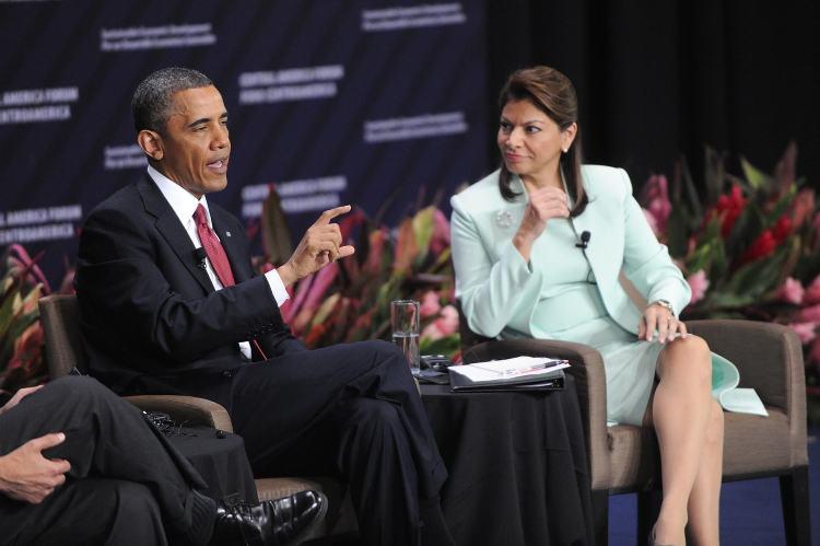 Barak Obama's visit in May 2013