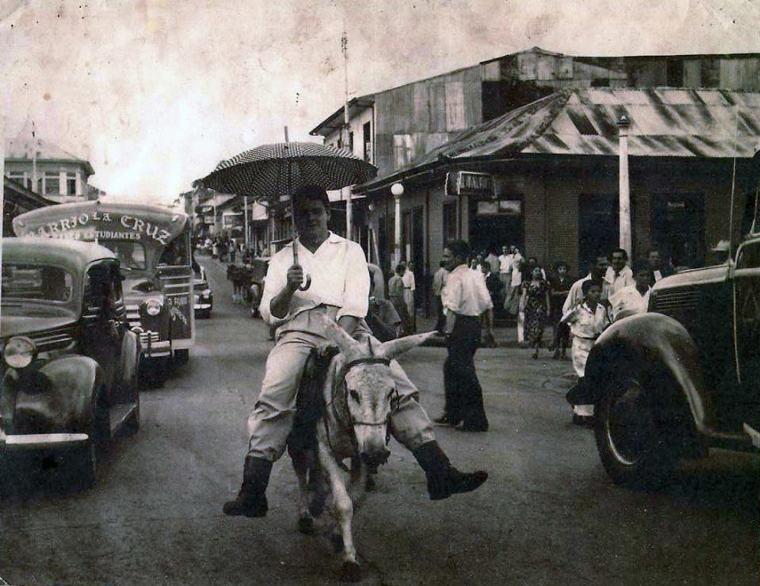 paseo de los estudiantes 1948