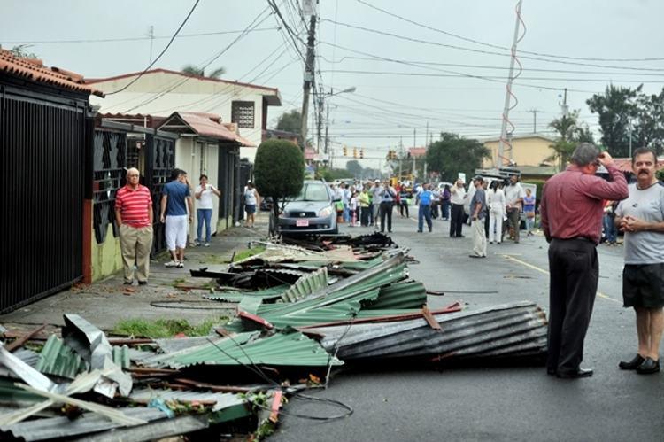 Tornado en Heredia