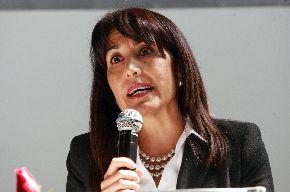 Peru's Minister of Foreign Trade and Tourism, Magali Silva. Photo: ANDINA/Norman Córdova