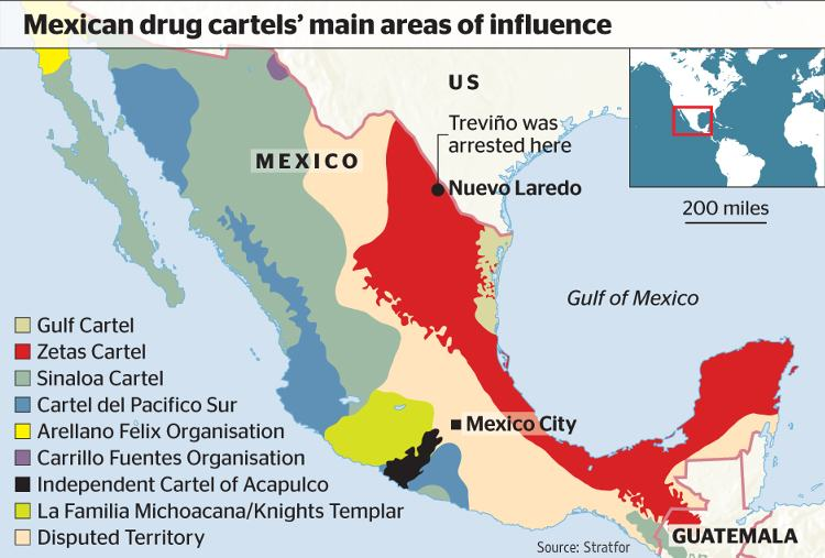 Are The Knights Templar Mexico S Third Most Powerful