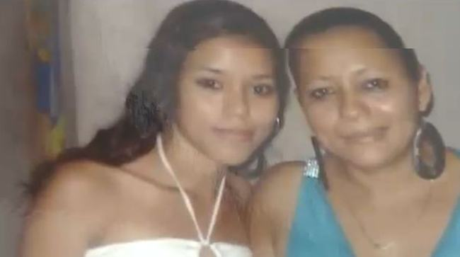 Angie Obando (left) was murdered by her ex-husband.