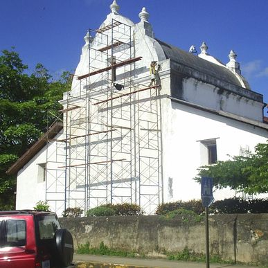 The colonial church of Nicoya was one of the many affected by the strong earthquake on September 5, 2012.