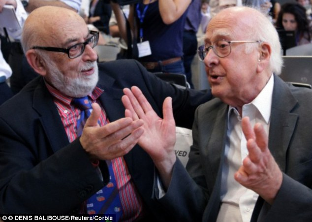 Mr Higgs shares the prize with Belgium physicist Francois Englert who proposed a similar theory around the same time