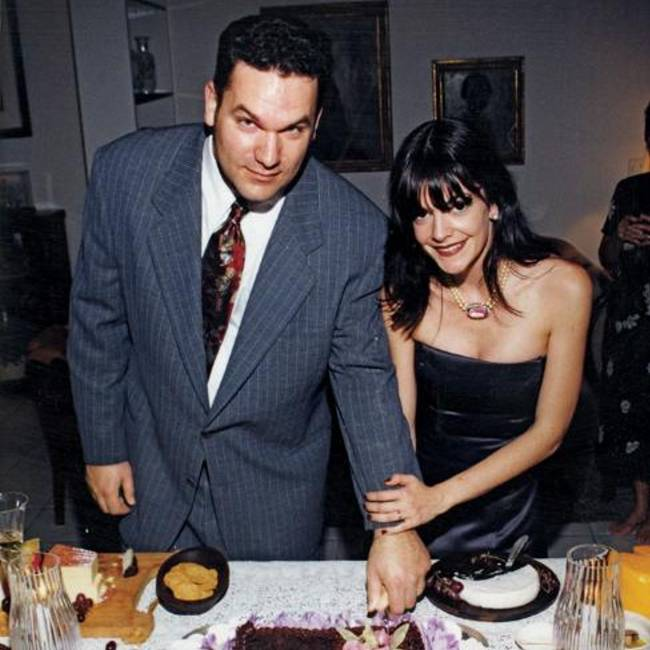 John and Ann on their wedding day in 1999. They'd met through a mutual friend a year earlier and bonded over all they had in common, including manic depression.