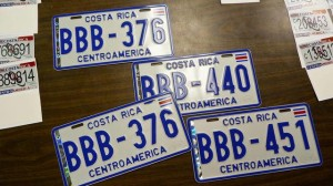 New License Plates