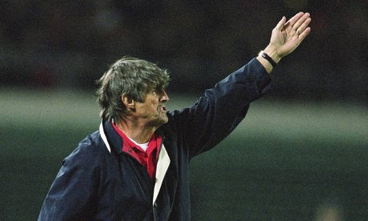Bora Milutinovic was the coach for China at the 2002 World Cup finals in South Korea and Japan. Photograph: Ben Radford/Allsport
