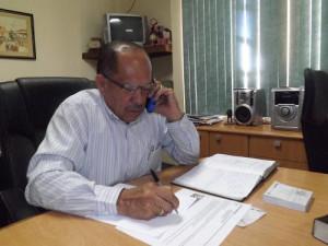 Liberia Mayor, Luis Gerardo Castañeda.