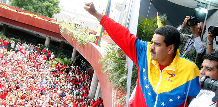 Nicolás Maduro, successor within the Chavista regime. Source: Gobierno Bolivariano de Venezuela.