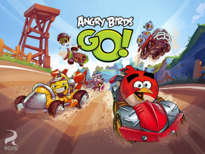 Angry Birds Go! now on the App Store in Costa Rica