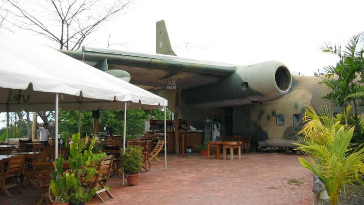 Sister plane of the C-123 shot down during the Iran-Contra Affair (Nicaragua) has found a new purpose in retirement.