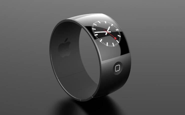 iWatch concept design by Danish designer Esben Oxholm