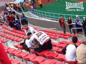 From the Barras Bravas de Costa Rica facebook page.