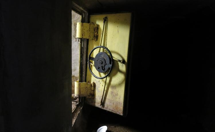 Elaborate tunnels: Guzman escaped firstly through an open steel reinforced door leading to a series of interconnected tunnels in the city's drainage system ...
