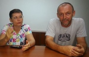 Chukharev parents, Igor and Dina in an interview with CRHoy