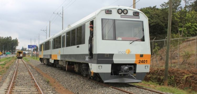 The urban train to Cartago | Photo: Incofer
