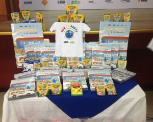 "Some 4,500 students whose schools are near Paso Ancho receive, starting this Thursday, a kit with educational material on road safety, in a project called ""Do your part""."