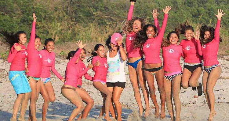 The group Nosara Ticas Surf celebrated its second anniversary this MarchPhoto by Brian Bryones