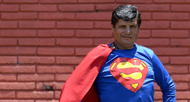 Gerardo Vargas Ramirez is Costa Rica's version of the Man of Steel.