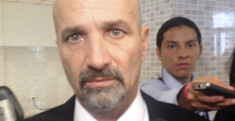 "Mariano Figueres, new head of Costa Rica's ""intelligence"" (spy) agency. ""Those following a bad path have every reason in the world to fear DIS"", says Figureres."