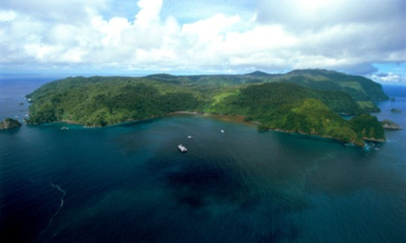 Oceanographer Jacques Cousteau called Cocos Island the 'most beautiful in the world'. Photograph: Under Sea Hunter/AFP/Getty Images