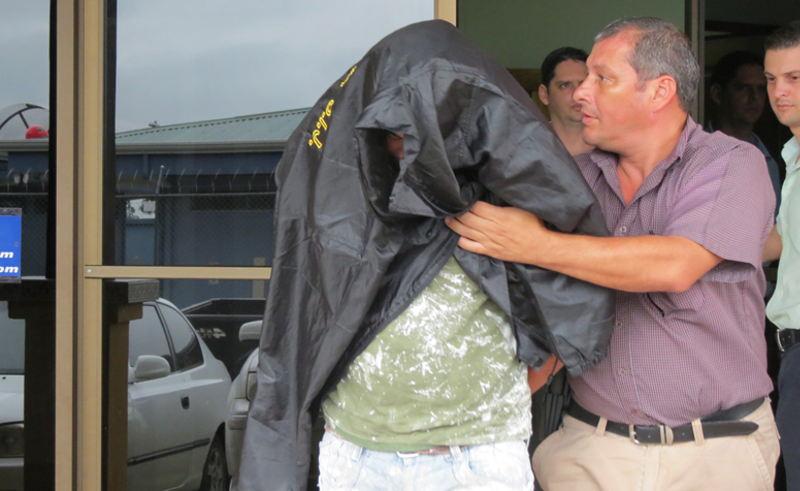 Suspect in rape of US tourist  in police custody. | Photo:  CARLOS HERNÁNDEZ