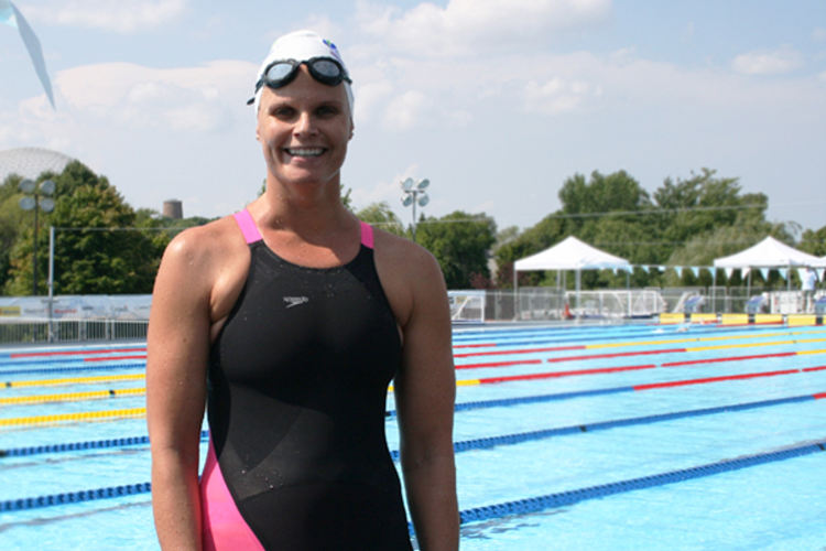 Train hard and have fun, says Olympic champion Claudia Poll (CRC) - credit: Delphine Schmutz/FINA