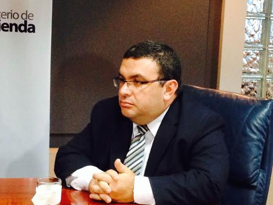 Fernando Rodríguez, deputy minster of Finance.