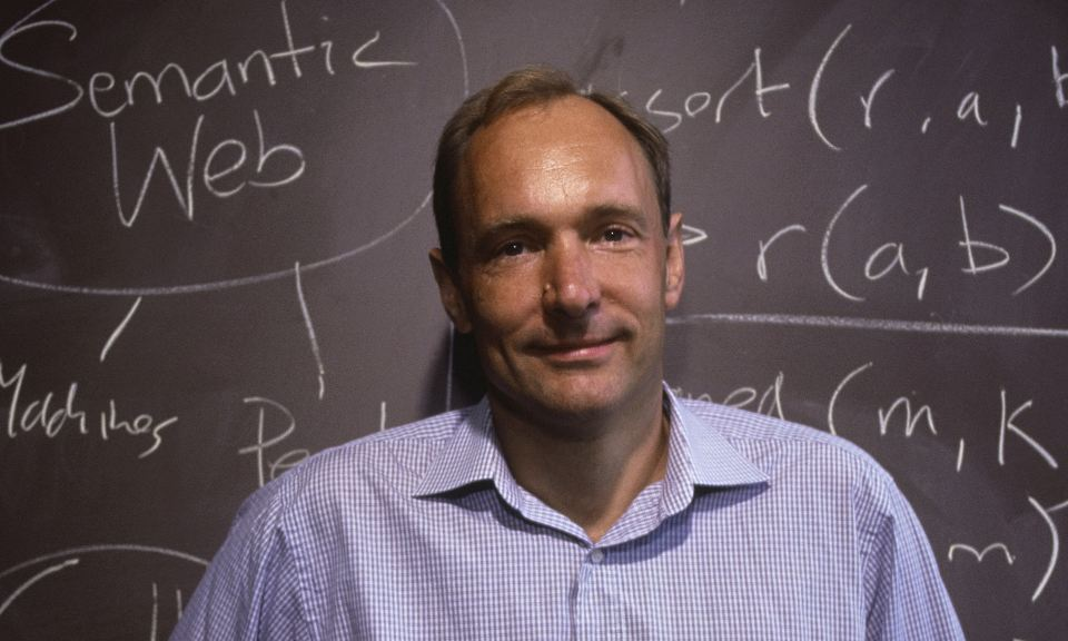 World Wide Web Inventor Tim Berners-Lee