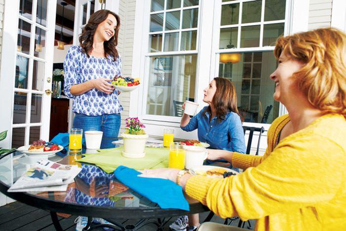 THR_LIFESTYLE_Backyard deck with am coffee_reduced