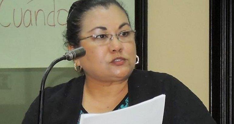 Guanacaste legislative deputy Marta Arauz Mora, Photo by primeroennoticias.com
