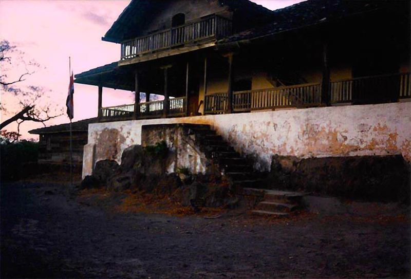 La casona de Santa Rosa used in the battle of William Walker in Santa Rosa, Guanacaste.
