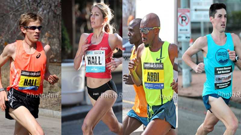 Left to right: Ryan Hall, Sara Hall, Abdi Abdirahman and Matt Llano are set to compete in Costa Rica this Sunday. Photos: PhotoRun.net Read more at http://running.competitor.com/2014/11/news/american-stars-race-costa-rica-sunday_118385#Uw59axPW1O5UyHZL.99