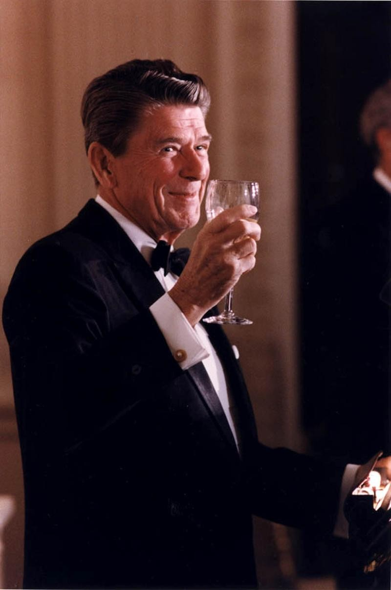 Ronald Wilson Reagan, actorm politician and the 40th President of the United States.