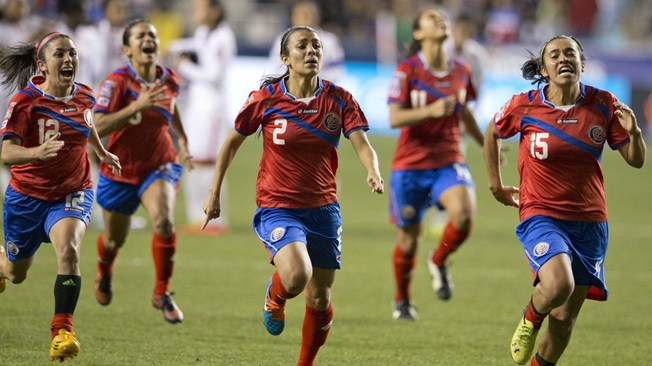 """The mix of generations was important for us to achieve our goal. We've played in World Cups at youth level, but this was the one that had got away from us (...),"" Katherine Alvarado, Costa Rica midfielder"