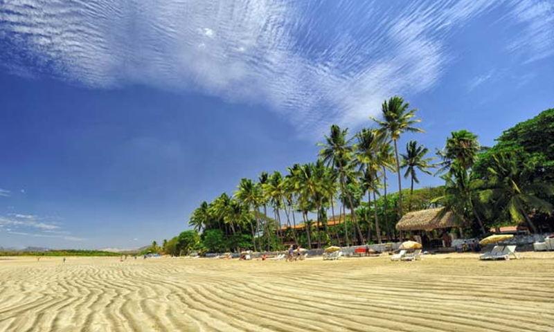 Tamarindo beach on Costa Rica's North Pacific coast, in Guancaste