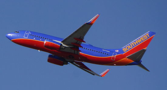 Southwest Airlines plans to use 143-seat Boeing 737-700 jets like this one to fly to Costa Rica.