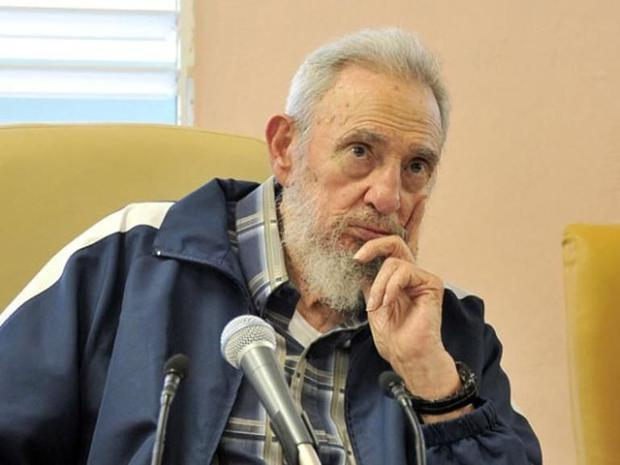 A picture published on the official website www.cubadebate.cu shows former president Fidel Castro on April 9, 2013 in Havana , www.cubadebate.cu/AFP/File Read more: http://www.digitaljournal.com/news/world/fidel-castro-breaks-silence-on-us-cuba-rapprochement/article/424605#ixzz3Q6AEpCFc