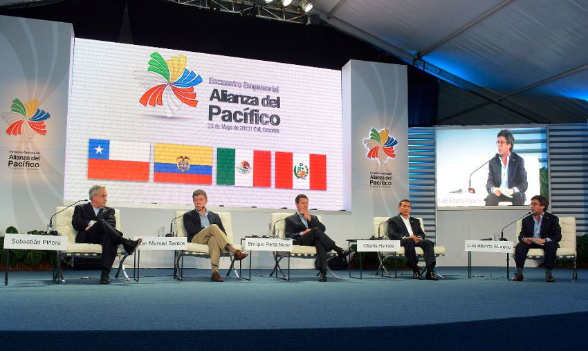 Pacific Alliance 2013 summit in Cali, Colombia