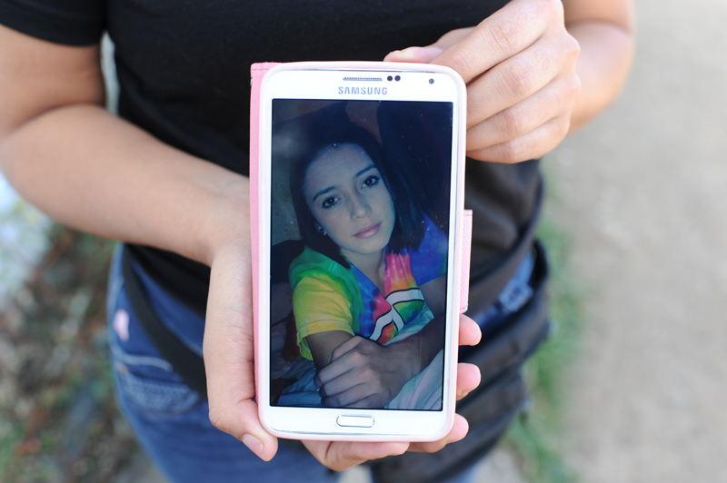 Yinnete Tatiana Molina Salas, the 19 year old shot dead Monday morning in Escazú. Photo: Jorge Navarro, La Nacion