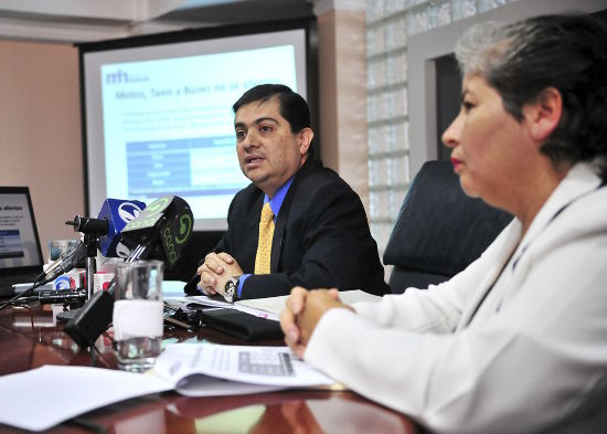 Carlos Vargas, director general of taxation. Photo: La Nacion
