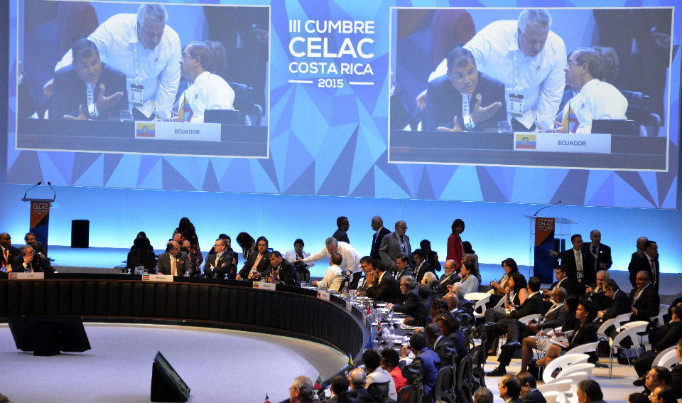 COSTA RICA-CELAC-SUMMIT