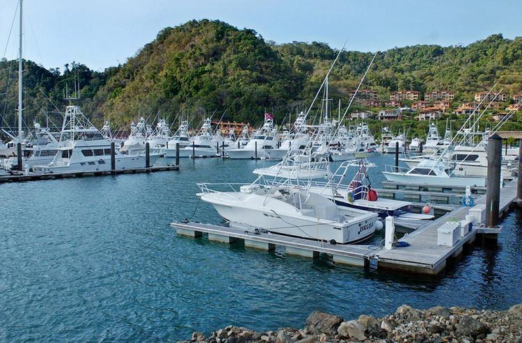Los Sueños marina in Costa Rica.