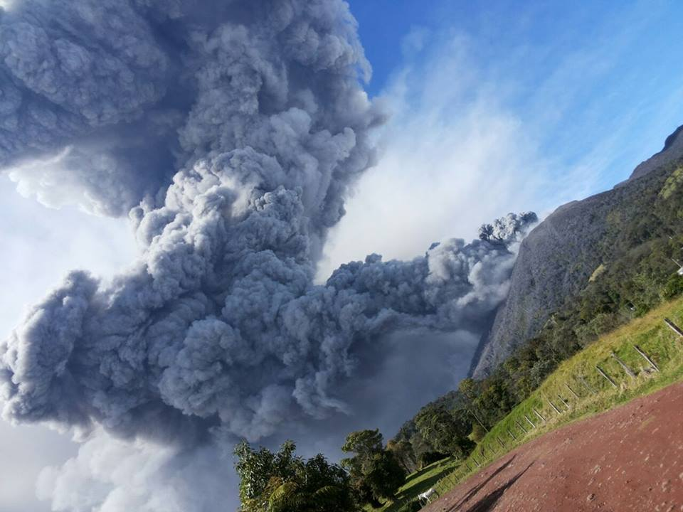 Turrialba Eruption