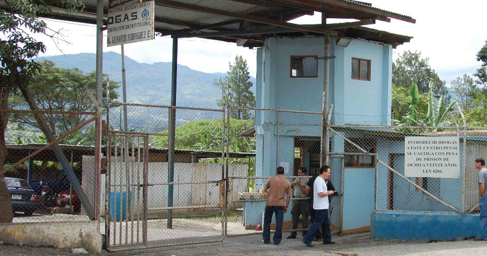 La Reforma prison in Alajuela. Photo for illustrative purposes