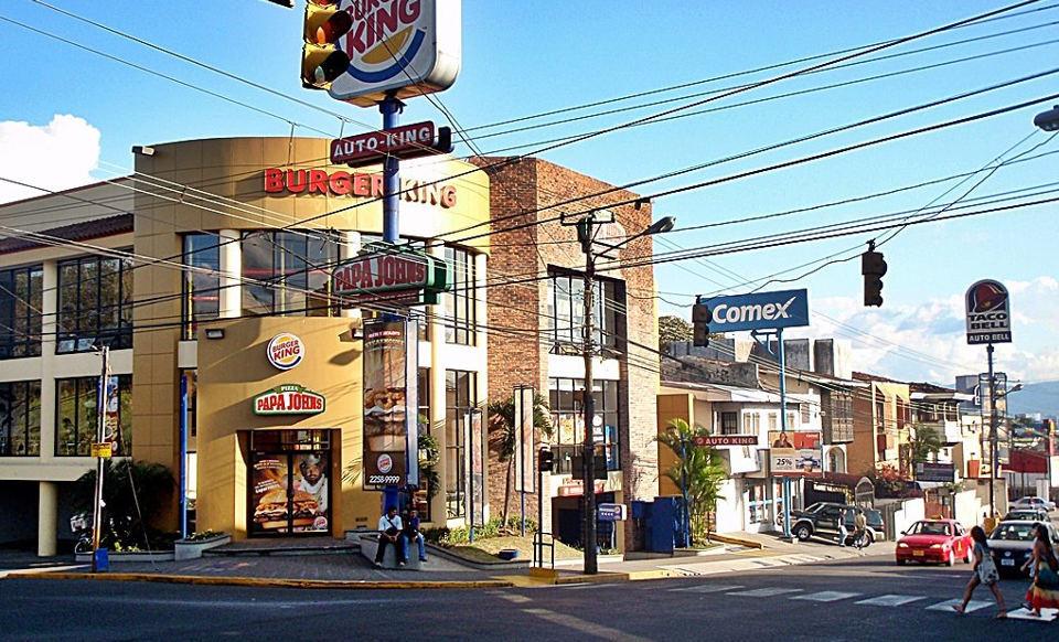 Burger King, in Heredia