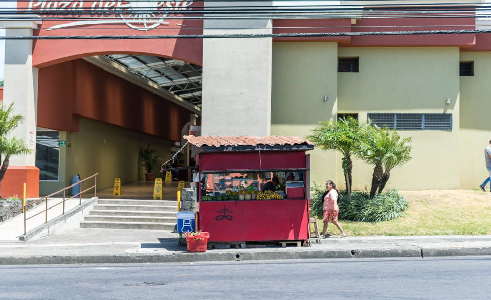 The old fruit stand. Photo by Sylvania