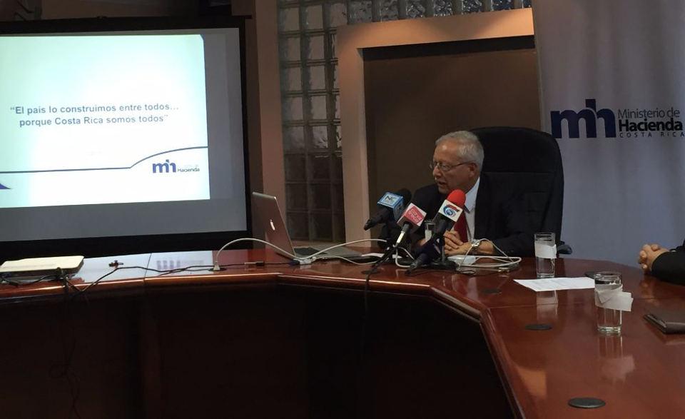 Helio Fallas, Minister of Finance (Ministro de Hacienda)