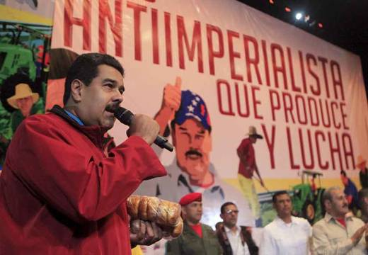 "The Venezuelan president claimed a group of fugitives is undermining the Venezuelan economy by hosting a website called ""Dólar Today"" (Reuters)"